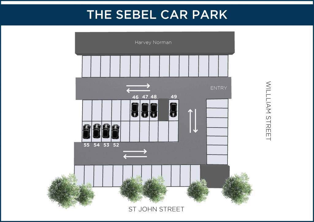 The Sebel Car Park